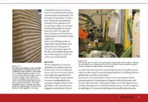 In het boek staan volop praktijkvoorbeelden zelfs van de fabricage van producten.